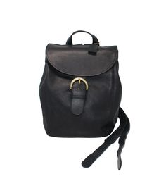 cbe9a96c498b6 Back to School Sale EUC NAVY Vintage Coach Backpack Daypack Buckle Book Bag  Rucksack Style 4134 in Navy Glove-Tanned Leather