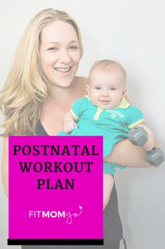 Postnatal Workout Plan with Personal Trainer Erin Kendall Postpartum Workout Plan, Post Pregnancy Workout, Mommy Workout, Postnatal Workout, 3rd Trimester Pregnancy, Lose Weight While Pregnant, Natural Parenting, Exercise For Kids, Workout Videos
