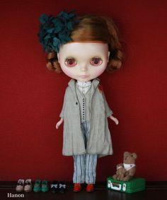 HANON Workshop kit (Linen Tailored coat) for Blythe