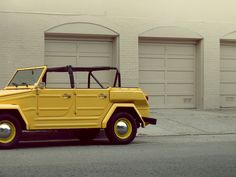 Volkswagen Thing 1974 via StreetParkedSF