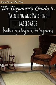 the beginner s guide to patching and painting baseboards, diy, paint colors, painting, wall decor, woodworking projects, The Beginner s Guide to Patching and Painting Baseboards written by a beginner for beginners