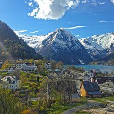 Balestrand landscape, Norway