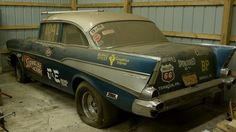 57 Gasser in shed