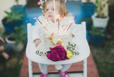 Lucca's first birthday party | 100 Layer Cakelet