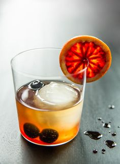 Aztec Chocolate Old Fashioned