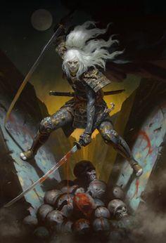 As incríveis ilustrações de fantasia para games de Heon Hwa Choe a.k.a. Kilart
