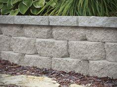 Installing A Retaining Wall at Menards