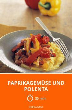 Paprikagemüse und Polenta - smarter - Zeit: 30 Min. | eatsmarter.de