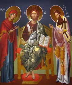 Christian Church, Christian Faith, Typical Russian, Byzantine Icons, Orthodox Christianity, Son Of God, Orthodox Icons, Kirchen, Cherub