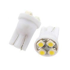 TOYL 20 4 SMD LED Xenon White T10 501 W5W Car Side Wedge Interior Light Lamp Bulb UK