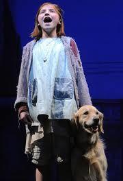 "Broadway's ""Annie"" #Annie #Musical #Theatre <<< Do you hear her??? ""TO-MARROOUUU - TO-MARROOOOUUU - I LAOUU -TO MARROOUUU"" ❤️"