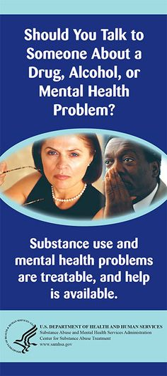 Should You Talk to Someone About a Drug, Alcohol, or Mental Health Problem?