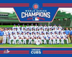 b98cdabbfc4 Details about Chicago Cubs 2016 World Series Champions Team Authentic 8x10  Photo Kris Bryant