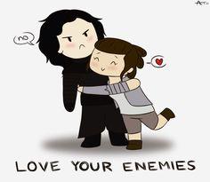 Love your enemies. Reylo