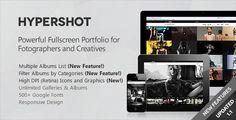 Hypershot - Photography Portfolio WordPress Theme - ThemeForest Item for Sale