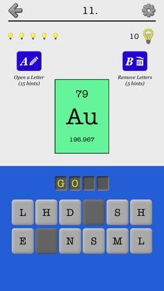 Flashcards periodic table of elements learning the names and iphone app chemical elements of the periodic table name quiz and flashcards games urtaz Image collections