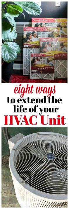 How to Extend the Life of Your HVAC Unit | Home Maintenance Tips | Home Maintenance Checklist | Electric Bill Savings Tips