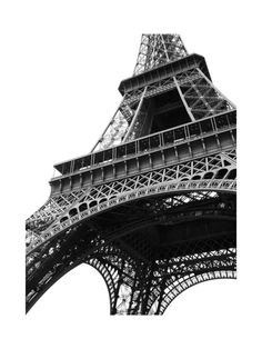 See the Eiffel Tour in a new perspective with The Iron Lady by Ava Thomson available at Minted.com