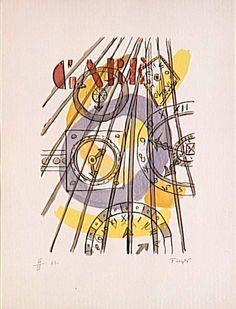 'station' von Fernand Leger (1881-1955, France)
