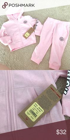 NWT True Religion Flower Power Set 18 months New with tags True Religion two piece Flower power set. Light pink super soft and cute!! Size 18 months True Religion Matching Sets