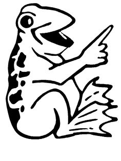 Frog Coloring Pages, Coloring Pages For Kids, Frog Crafts, Frogs, Laughing, Printables, Art, Art Background, Coloring Pages For Boys