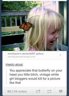 Butterfly bloggers: | 33 Of The Greatest Things That Happened On Tumblr In 2013