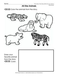 All Star Animals: Polar Bear, Polar Bear, What Do You Hear?