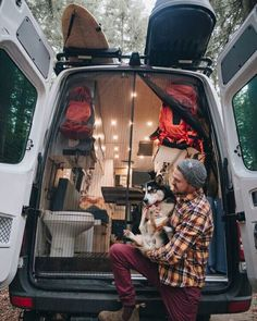 This is the best campervan setup! It has everything you need on the interior with a bathroom, kitchen and bug net all in the perfect layout. #vanlife