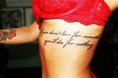 tattoo/quote
