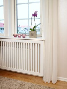 Home Office Design, Interior Design Kitchen, House Design, Small Room Decor, Small Rooms, Home Bedroom, Home Living Room, Hallway Furniture, Radiator Cover
