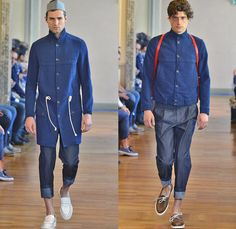 Andrea Incontri 2014 Spring Summer Mens Runway Collection - Milan Italy Catwalk Fashion Show: Designer Denim Jeans Fashion: Season Collections, Runways, Lookbooks and Linesheets