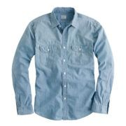 TOP - chambray shirt