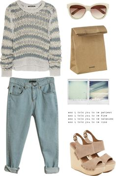 """""""Boyfriend Jeans Part 2"""" by endimanche ❤ liked on Polyvore"""