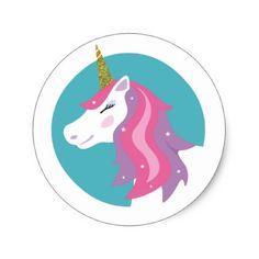 Magical Unicorn Sticker - glitter glamour brilliance sparkle design idea diy elegant