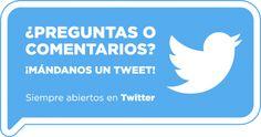 Ya tenemos nuestro #TwitterConecta ¿Alguna pregunta? ¡En #Twitter no cerramos!