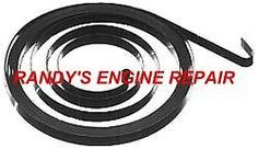 RECOIL STARTER SPRING MCCULLOCH 310 320 330 340 MAC CAT __randysenginerepair *** Please continue read.