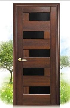 Are you looking for best wooden doors for your home that suits perfectly? Then come and see our new content Wooden Main Door Design Ideas. Wooden Main Door Design, Door Gate Design, Door Design Interior, Modern Interior Doors, Flush Door Design, Bedroom Door Design, Entrance Design, Exterior Design, The Doors