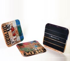 """Recycled Skateboard Table tops - (24"""" x 24"""" ), (36"""" x 36""""), Custom sizes - starting at $300"""