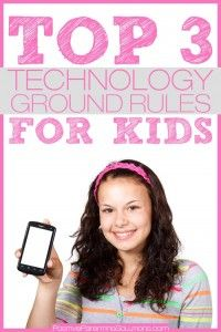 Top 3 #Technology Usage Ground #Rules & Consequences for Kids