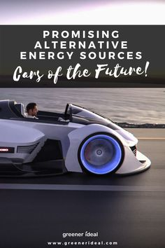 Eco-conscious drivers and scientists are looking for cleaner ways to power their cars. Here are some of the most promising alternative energy sources for the automotive industry Green Cleaning Recipes, Natural Cleaning Recipes, Natural Cleaning Products, Eco Friendly Cars, Alternative Energy Sources, Green Living Tips, Green Technology, Education Humor, Natural Cleaners