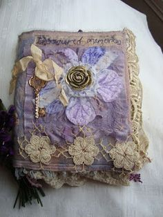 The English Romantic - fabric journal