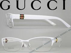 woodnet | Rakuten Global Market: Gucci glasses white thurmont type GUCCI eyeglasses eyeglass frames GUC-GG-4244-UYU WN0013 branded/mens & ladies / men for & woman sex for and once with ITA reading glasses color PC PC eyeglass lens replacement for / lens replacement is 6,