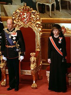 King Harald's Accession