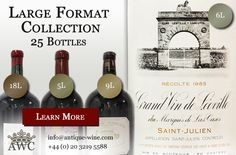 Melchiors, Salmanazars and Jeroboams: Large Format Collection - The Antique Wine Company (AWC)