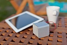 Add this item to your registry on registrylove.com - NuForce Cube Portable Speaker $120 <3 from http://www.werd.com/category/tech/page/8/