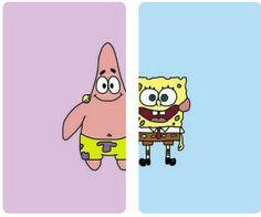 Cute Cat Wallpaper, Star Wallpaper, Wallpaper Iphone Disney, Tumblr Wallpaper, Patrick Spongebob, Spongebob Best Friend, Best Friend Wallpaper, Ariana Grande Drawings, Best Friends