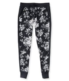 Floral Jogger Sweat Pants from Aeropostale