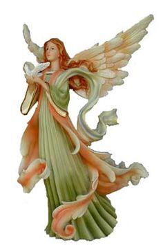 christmas angel figurine - Google Search