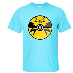 5a8d9058 Men #Pokemon Go Black Print Short Sleeve T Shirts KTST1607202 - Kalolia Pokemon  T,