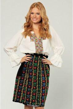 Romanian dress patterns Dress Patterns, Print Patterns, Modern Fashion, Cross Stitch Patterns, Cool Style, Traditional, Blouse, Skirts, Gowns